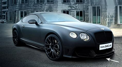 matte bentley 2013 matte black duro bentley gt by dmc chariots
