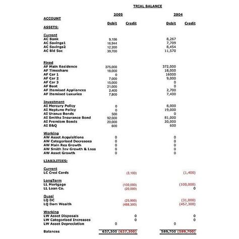 trial balance template the trial balance collection of tips templates and exles