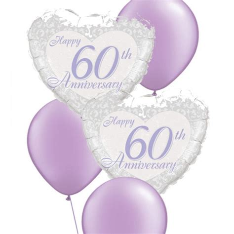 Wedding Anniversary Balloons by Anniversary Balloon Bouquets 60th Anniversary Balloon