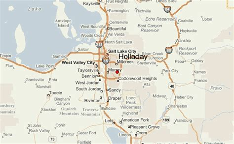 holladay location guide