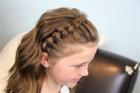 Cute Girl Hairstyles Headband Twist | dutch lace braided headband braid hairstyles cute