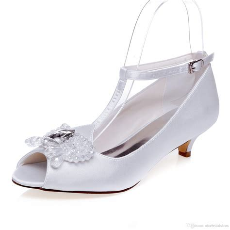 5cm Heel Height Comfortable Bridal Shoes Wedding Shoes