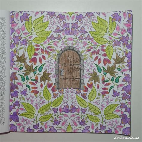 secret garden coloring book book depository johanna basford jardin secret carnet de coloriage et