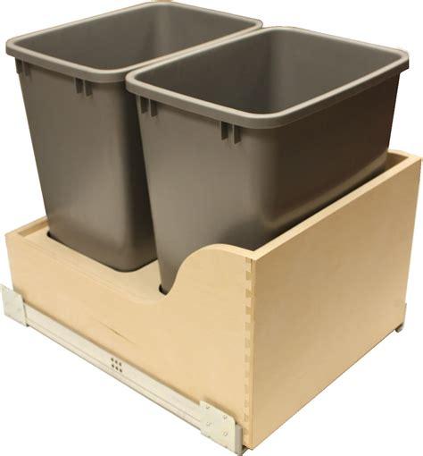 Trash Drawer Slides by Soft Closing Blumotion Trash Pullout