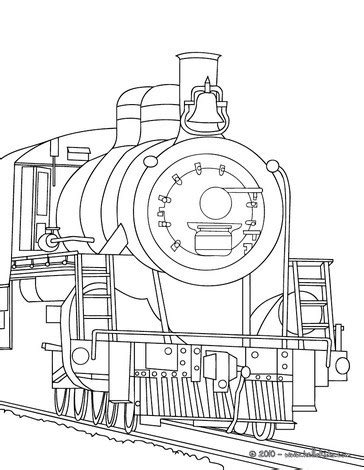 coloring page of a train engine old steam locomotive engine coloring pages hellokids com