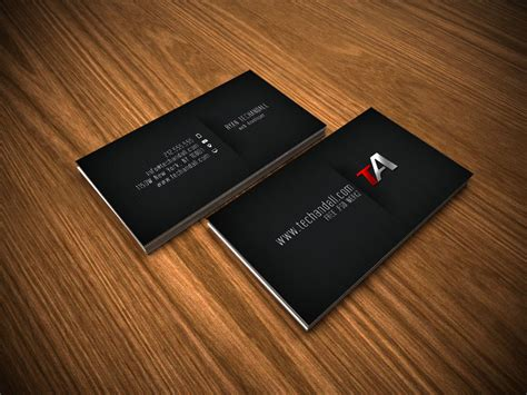 custom card template 187 professional name card template