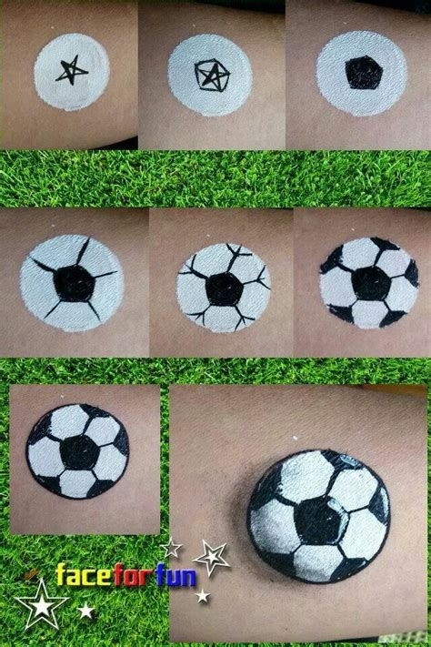 soccer ball with flames boy s face painting by let s 17 best images about facepainting on pinterest face