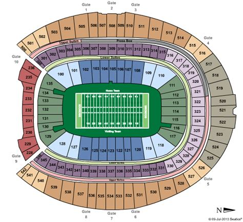 sports authority seating capacity sports authority field at mile high tickets and event calendar