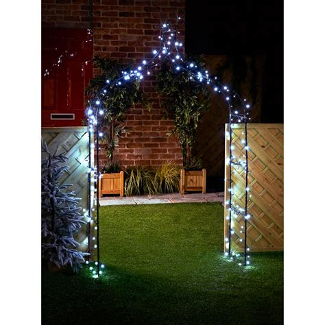 bm  solar powered led string lights white  bm