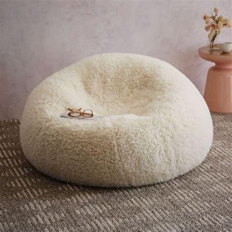 west elm sheepskin rug faux fur beanbag sheepskin west elm