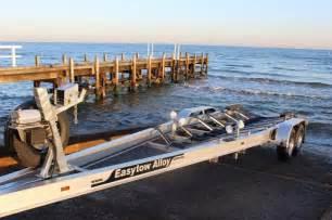 national aluminum boat trailers easytow boat trailers premium custom trailers