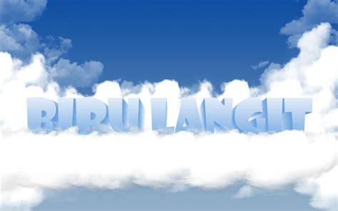 Biru Langit langit biru ainkgoblog