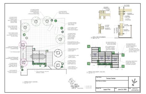 Design Plans Landscaping Design Build All Decked Out