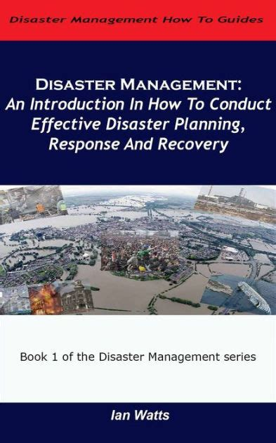 Mba In Disaster Management Distance Learning by Disaster Management An Introduction In How To Conduct