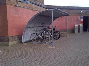 cycle shed albany park station 169 alex mcgregor cc by sa 2