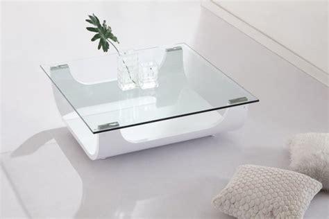 Tables Basses De Salon En Verre by Table Basse De Salon En Verre Rectangulaire Table Basse