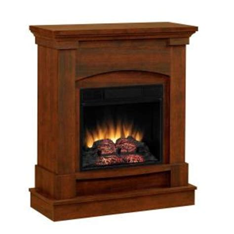 chimney free akron 31 in space saver electric fireplace
