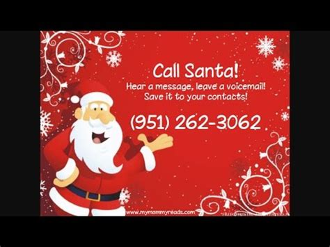 calling santa fake youtube
