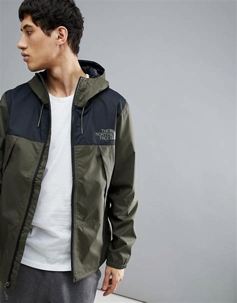 north face  mountain  jacket hooded waterproof