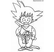 Dibujos Sin Colorear Goku Peque Dragonball Para Car Memes