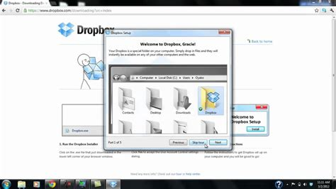 dropbox youtube channel installing and using dropbox tutorial youtube