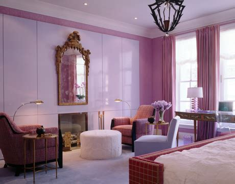 purple and red bedroom decorating with pink interior designing ideas