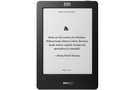 e reader kobo ereader touch edition inexpensive touchscreen e