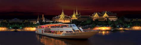 paris boat trip dinner chao phraya princess dinner cruise thailand bangkok