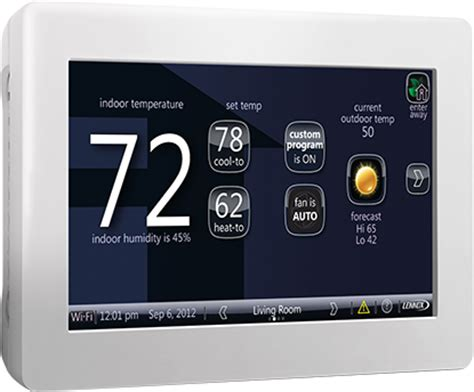 comfort masters heating and cooling icomfort wi fi touchscreen thermostat bardi atlanta ga