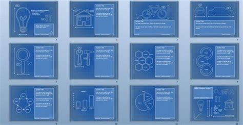 blueprint templates 24 absolutely free powerpoint template in ppt ginva