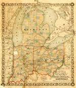 Map Of Michigan And Ohio by Hartford County Maryland