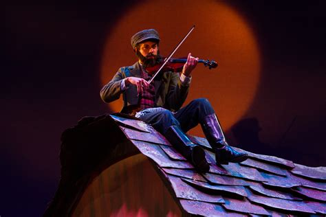 on the roof fiddler on the roof at light opera works theatre reviews