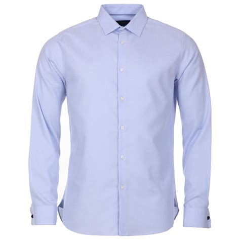 pattern light blue shirt mens light blue herringbone slim fit shirt