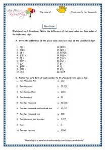 grade 3 maths worksheets 5 digit numbers 2 4 place value
