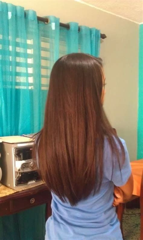 my hair is straight in the back long hair back view beauty pinterest sexy long
