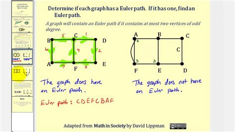 graph theory integrated circuits graph theory euler paths and euler circuits