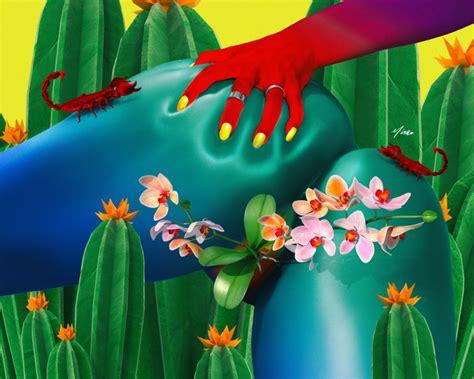 scorpio art print  iameye  shopblast