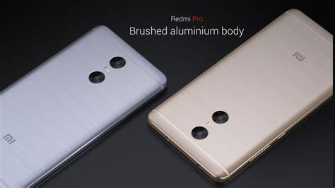 Xiaomi Redmi Pro 5 5 Inc Dual Back Casing Slim Back Covers xiaomi redmi pro goes official with 5 5 inch oled display dual rear cameras on budget