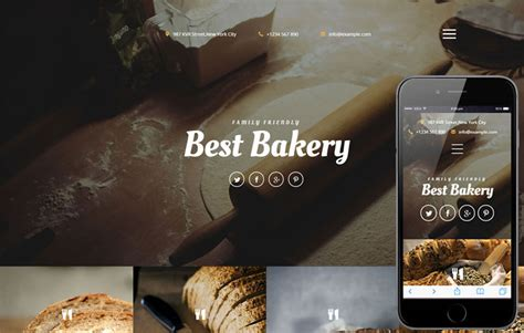 best bakery best bakery a hotel category responsive web template