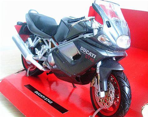 Miniatur Diecast Motor Ducati St4s black 1 12 scale newray diecast ducati st4s motorcycle