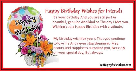 Happy Birthday Wish For A Friend Image Gallery Happy Birthday Friend Message