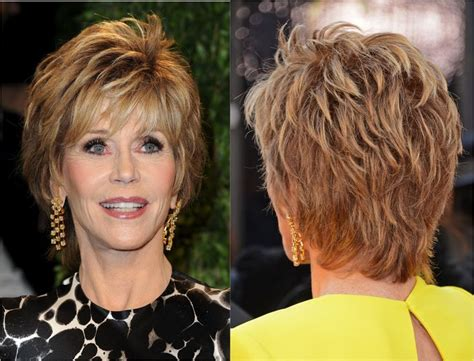 dimensional shag hairstyle gorgeous haircuts for women past 70 for women great