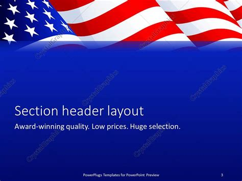 Microsoft Powerpoint Templates American Flag Images Powerpoint Template And Layout Patriotic Powerpoint Template