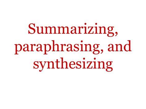 sle essay for summarizing paraphrasing and quoting summarising paraphrasing and referencing mfawriting61