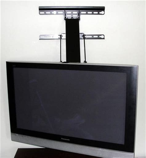 fireplace tv mount lowers 30 inches up swivel