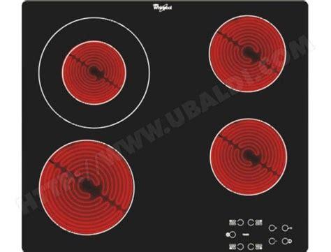 plaque vitroceramique whirlpool 7767 whirlpool akt8130ne plaque vitroceramique pas cher