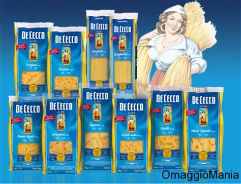 testare prodotti gratis diventa tester della pasta de cecco omaggiomania
