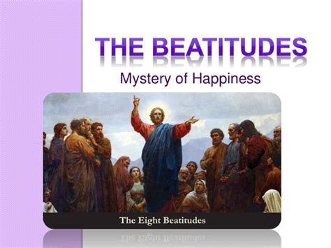 kingdom of happiness living the beatitudes in everyday books the 8 beatitudes