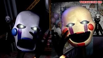 Fnac marionette and marionette fnaf2 by thesitcixd on deviantart
