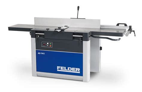 felder woodworking machines from format sliding table saws to dust extractors ad 941 jointer